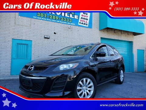 2010 Mazda CX-7 for sale at Cars Of Rockville in Rockville MD