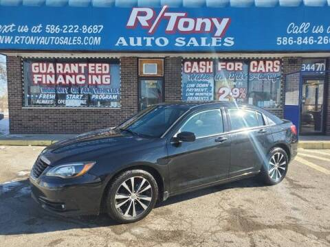 2014 Chrysler 200 for sale at R Tony Auto Sales in Clinton Township MI