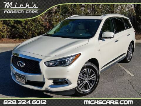 2017 Infiniti QX60 for sale at Mich's Foreign Cars in Hickory NC