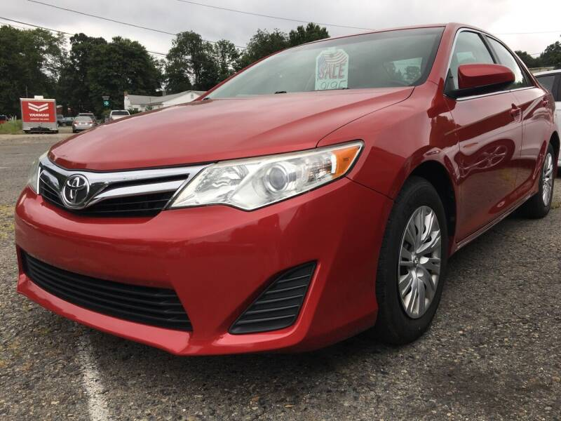 2013 Toyota Camry for sale at Motuzas Automotive Inc. in Upton MA