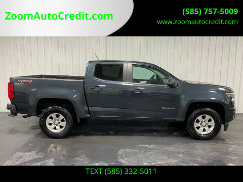 2018 Chevrolet Colorado for sale at ZoomAutoCredit.com in Elba NY