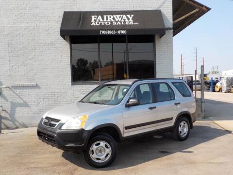 2004 Honda CR-V for sale at FAIRWAY AUTO SALES, INC. in Melrose Park IL