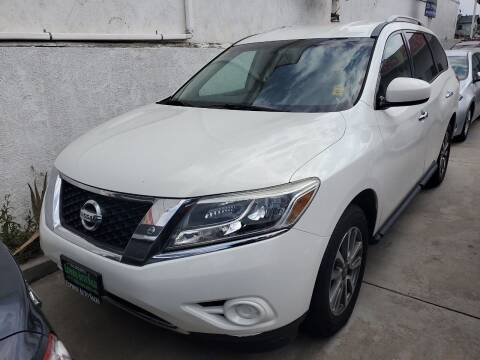 2013 Nissan Pathfinder for sale at Express Auto Sales in Los Angeles CA