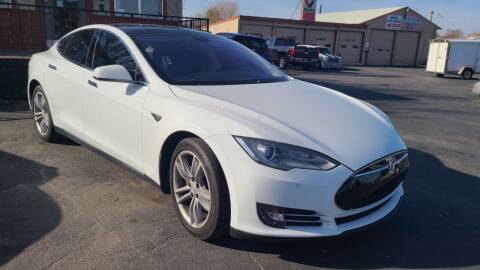 2013 Tesla Model S for sale at Silverline Auto Boise in Meridian ID