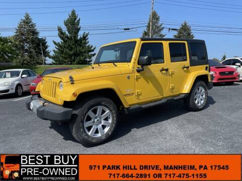 2015 Jeep Wrangler Unlimited for sale at Best Buy Pre-Owned in Manheim PA