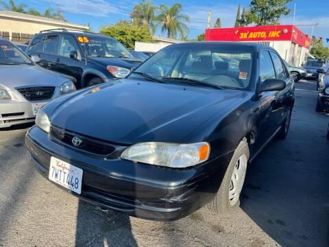 1998 Toyota Corolla for sale at 3K Auto in Escondido CA