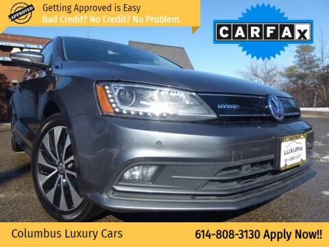 2015 Volkswagen Jetta for sale at Columbus Luxury Cars in Columbus OH