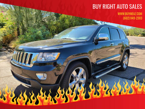 2011 Jeep Grand Cherokee for sale at BUY RIGHT AUTO SALES in Phoenix AZ