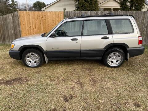 2001 Subaru Forester for sale at ALL Motor Cars LTD in Tillson NY