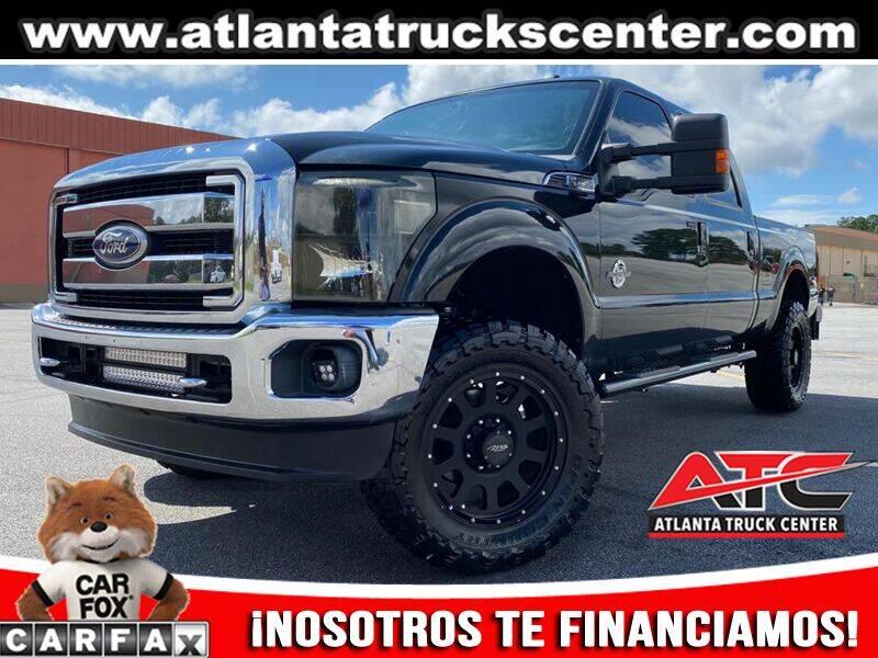 2011 Ford F-350 Super Duty for sale at ATLANTA TRUCK CENTER LLC in Brookhaven GA