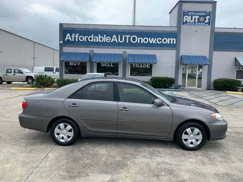 2005 Toyota Camry for sale at Affordable Autos in Houma LA