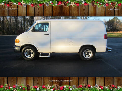 2003 Dodge Ram Cargo for sale at Barclay's Motors in Conover NC