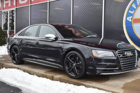 2013 Audi S8 for sale at Alfa Romeo & Fiat of Strongsville in Strongsville OH