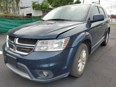 2014 Dodge Journey for sale at Eden Cars Inc in Hollywood FL
