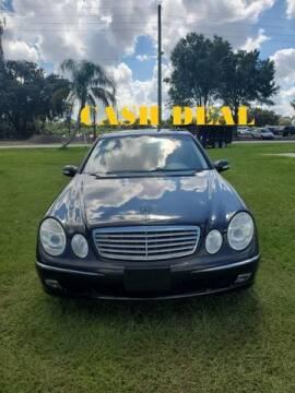 2003 Mercedes-Benz E-Class for sale at AM Auto Sales in Orlando FL