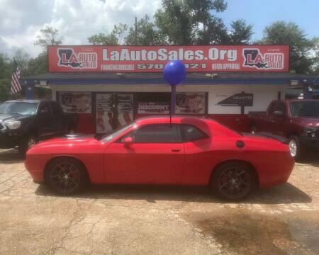 2016 Dodge Challenger for sale at LA Auto Sales in Monroe LA