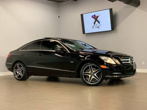 2012 Mercedes-Benz E-Class for sale at TX Auto Group in Houston TX