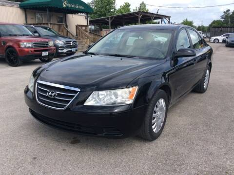 2009 Hyundai Sonata for sale at OASIS PARK & SELL in Spring TX