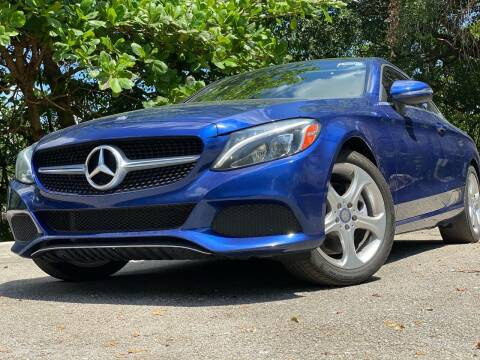 2017 Mercedes-Benz C-Class for sale at HIGH PERFORMANCE MOTORS in Hollywood FL