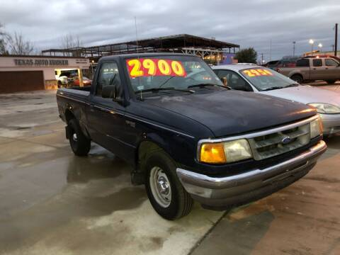 1997 Ford Ranger for sale at Texas Auto Broker in Killeen TX
