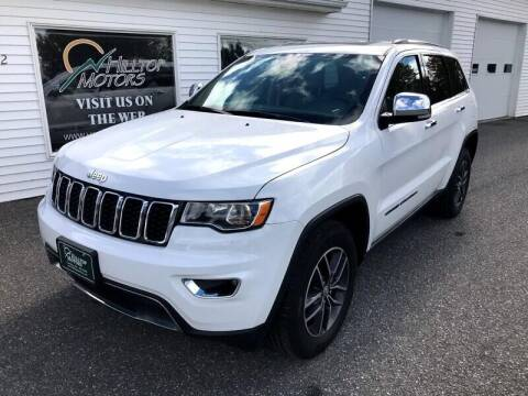2017 Jeep Grand Cherokee for sale at HILLTOP MOTORS INC in Caribou ME