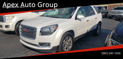 2016 GMC Acadia for sale at Apex Auto Group in Cabot AR
