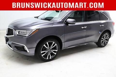 2019 Acura MDX for sale at Brunswick Auto Mart in Brunswick OH