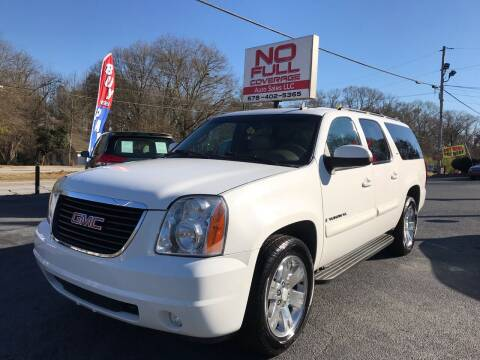 2007 GMC Yukon XL for sale at No Full Coverage Auto Sales in Austell GA