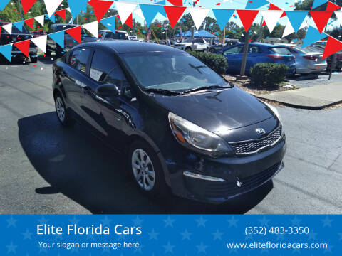 2017 Kia Rio for sale at Elite Florida Cars in Tavares FL