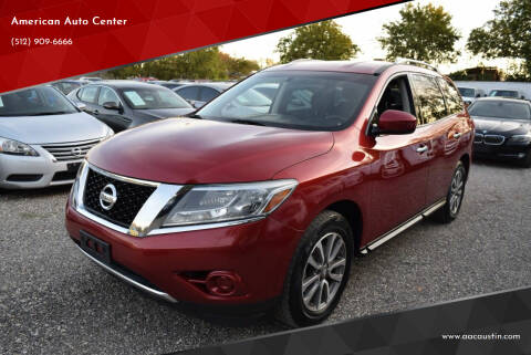 2014 Nissan Pathfinder for sale at American Auto Center in Austin TX