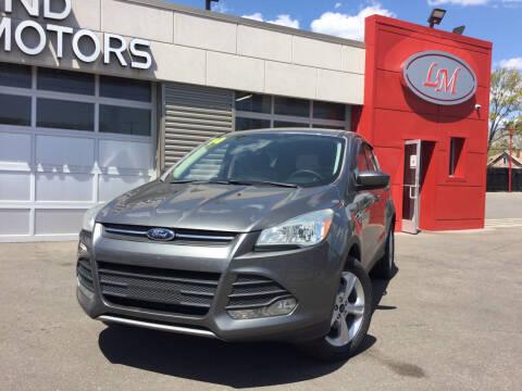 2014 Ford Escape for sale at Legend Motors of Detroit in Detroit MI
