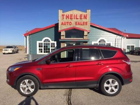 2016 Ford Escape for sale at THEILEN AUTO SALES in Clear Lake IA