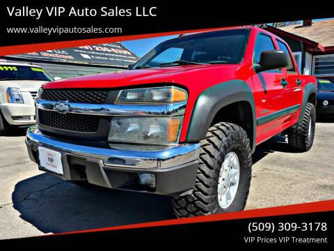 2004 Chevrolet Colorado for sale at Valley VIP Auto Sales LLC in Spokane Valley WA