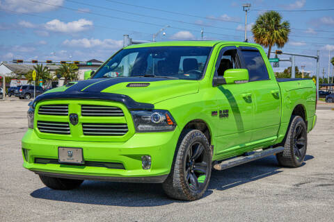 2017 RAM Ram Pickup 1500 for sale at Easy Deal Auto Brokers in Hollywood FL