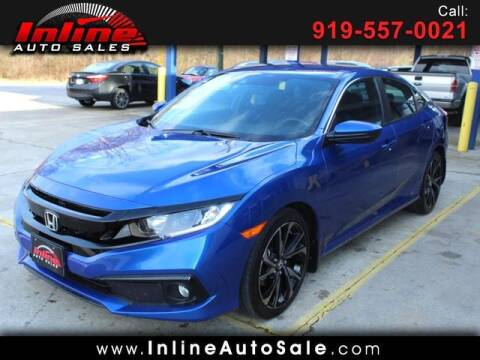 2020 Honda Civic for sale at Inline Auto Sales in Fuquay Varina NC