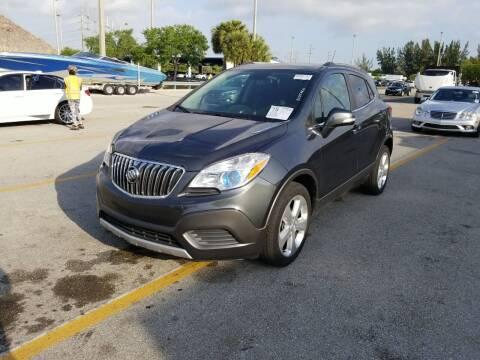 2016 Buick Encore for sale at L G AUTO SALES in Boynton Beach FL