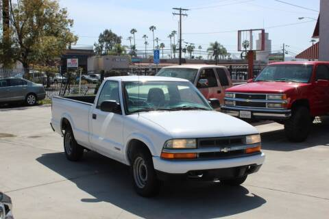 2000 Chevrolet S-10 for sale at Car 1234 inc in El Cajon CA