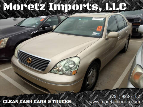 2002 Lexus LS 430 for sale at Moretz Imports, LLC in Spring TX
