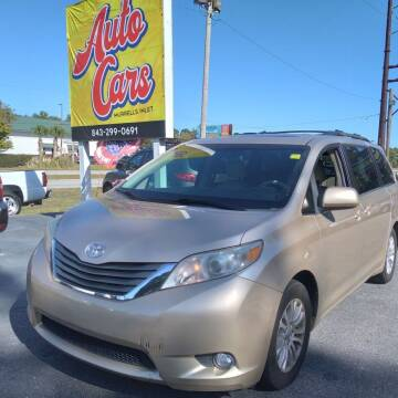2013 Toyota Sienna for sale at Auto Cars in Murrells Inlet SC