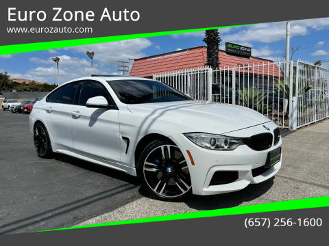 2015 BMW 4 Series for sale at Euro Zone Auto in Stanton CA