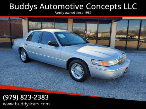2002 Mercury Grand Marquis for sale at Buddys Automotive Concepts LLC in Bryan TX