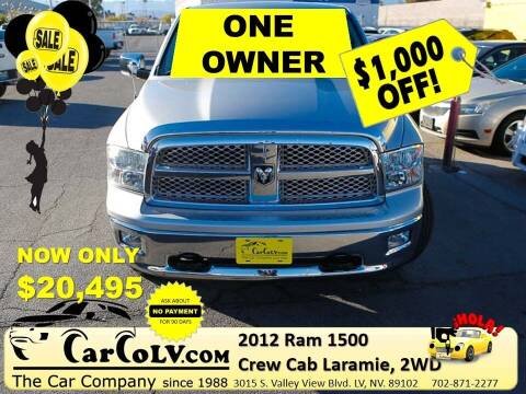 2012 RAM Ram Pickup 1500 for sale at The Car Company in Las Vegas NV