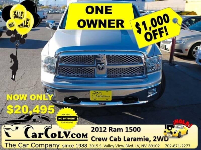 2012 RAM Ram Pickup 1500 for sale at The Car Company in Las Vegas NV