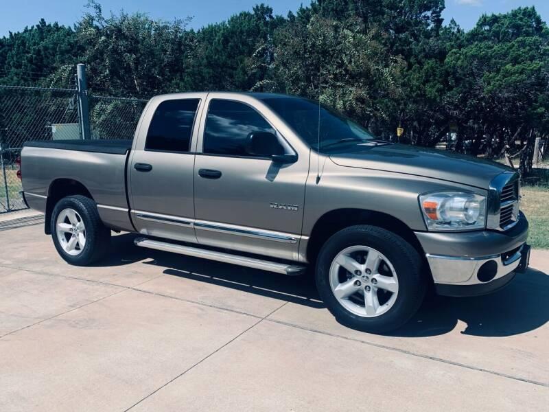 2008 Dodge Ram Pickup 1500 for sale at Luxury Motorsports in Austin TX