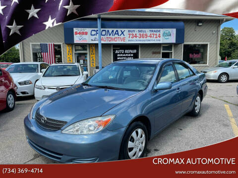 2003 Toyota Camry for sale at Cromax Automotive in Ann Arbor MI