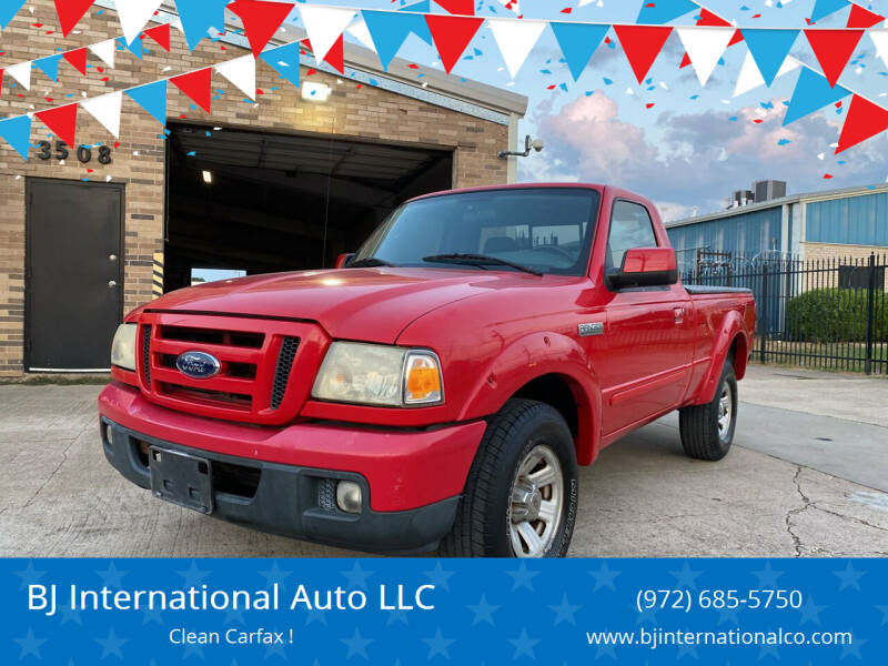 2007 Ford Ranger for sale at BJ International Auto LLC in Dallas TX
