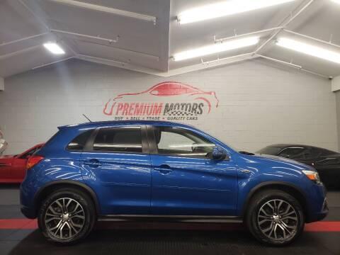 2016 Mitsubishi Outlander Sport for sale at Premium Motors in Villa Park IL