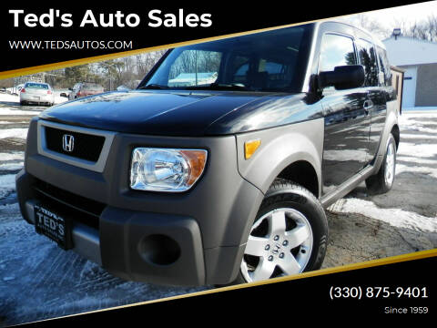 2004 Honda Element for sale at Ted's Auto Sales in Louisville OH