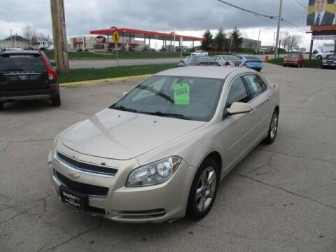 2010 Chevrolet Malibu for sale at King's Kars in Marion IA
