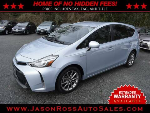 2016 Toyota Prius v for sale at Jason Ross Auto Sales in Burlington NC